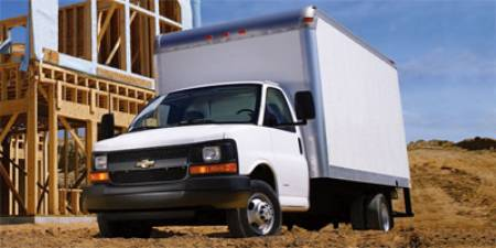 2008 Chevrolet Express Commercial Cutaway Work Van