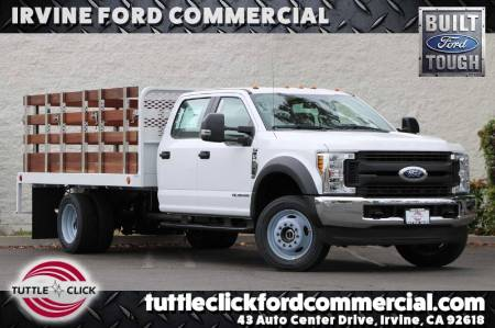 2019 Ford Super Duty F-550 DRW XL Scelzi 12' Stake Bed Diesel 4X4