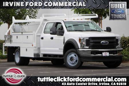 2019 Ford Super Duty F-550 DRW XL Scelzi 12' Contractor Body Diesel 4X4