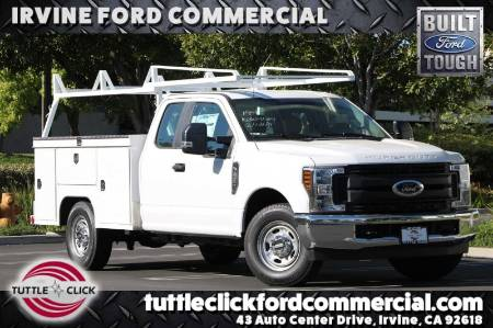 2019 Ford Super Duty F-250 SRW XL Scelzi 8' Utility Body Gas