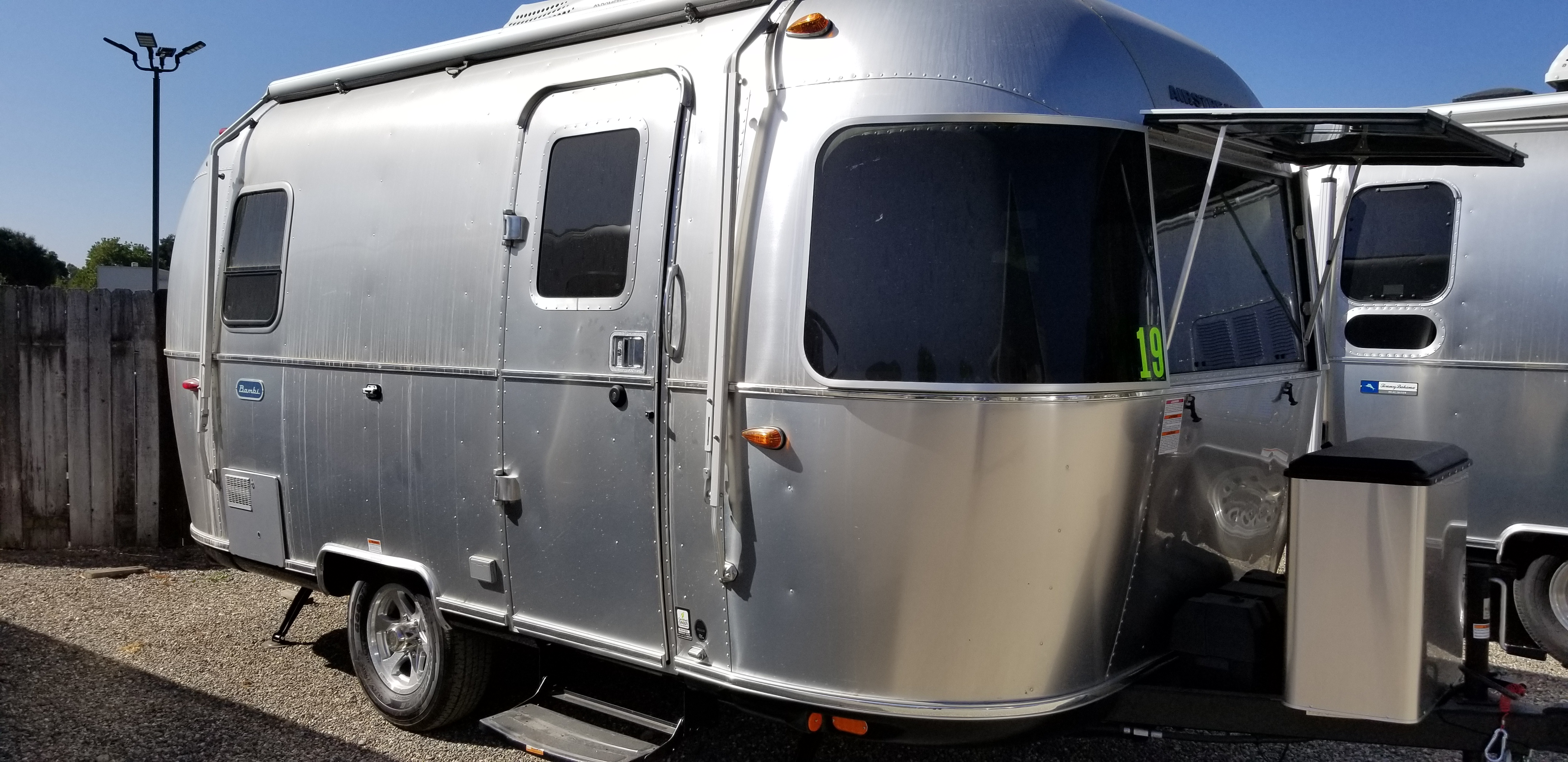 New 2020 Airstream Bambi 19CB