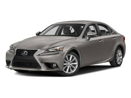 2016 Lexus IS 200T 4DR Sedan