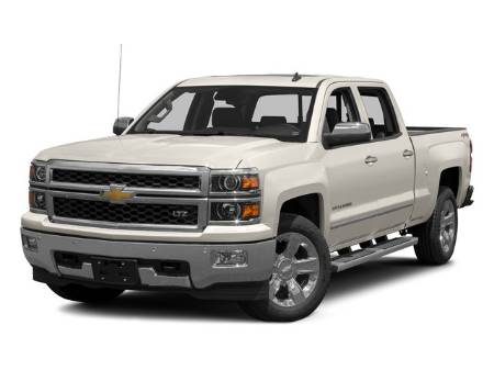 2015 Chevrolet Silverado 1500 LTZ Crew Cab 4X4 5.3L V8 Tow Package Remote Start Leather Heated Seats