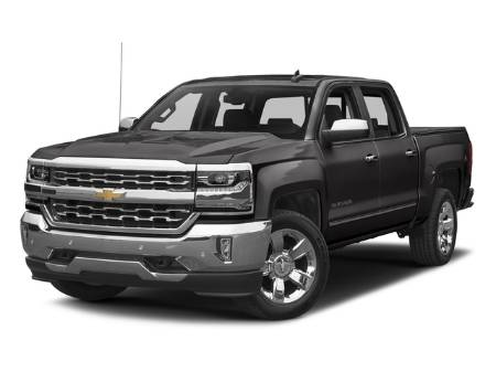 2017 Chevrolet Silverado 1500 LTZ Crew Cab 4X4 5.3L V8 Tow Package Sunroof Leather Heated Cooled Seats