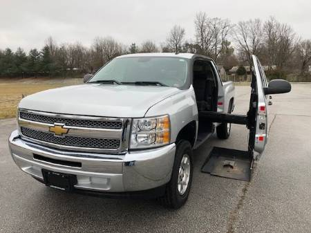 2012 Chevrolet Silverado 1500 LT Wheelchair Truck