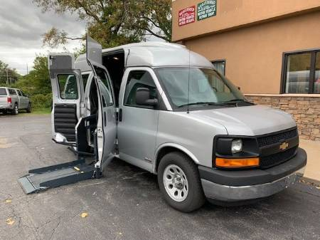 2014 Chevrolet Express 1500 Cargo Wheelchair Van