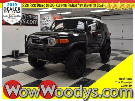 2012 Toyota FJ Cruiser 4X4 4.0L V6 Tow Package Roof Rack Keyless Entry