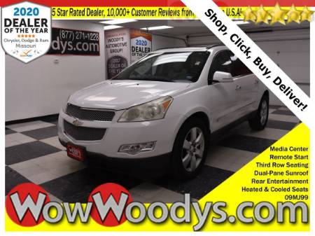 2009 Chevrolet Traverse LTZ FWD 3.6L V6 Tow Package Dual Pane Sunroof Rear Entertainment Third Row Seating