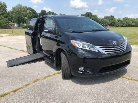 2017 Toyota Sienna Limited Wheelchair Van