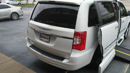 2015 Chrysler Town & Country Touring L Wheelchair Van