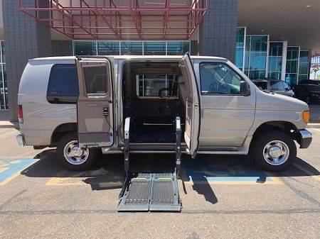 2007 Ford Econoline Full CUT Wheelchair Vehicle