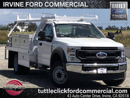 2020 Ford Super Duty F-450 DRW XL Scelzi 12' Contractor Body Gas