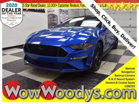 2019 Ford Mustang GT Premium 5.0L V8 Leather Heated Cooled Seats Navigation Backup Camera