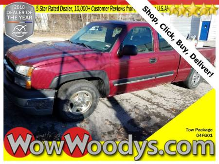 2004 Chevrolet Silverado 1500 Extended Cab 4X4 5.3L V8 Tow Package 5th Wheel Hitch Snow Plow Prep Package