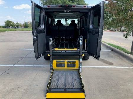 2019 RAM ProMaster 1500 Low Roof 136WB Wheelchair Vehicle