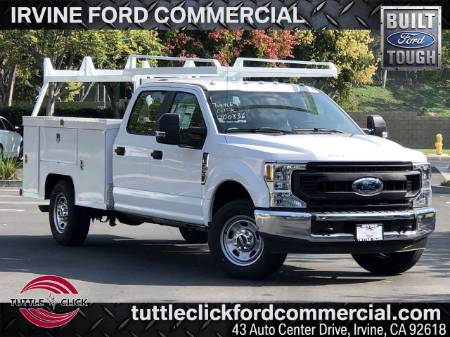 2020 Ford Super Duty F-350 SRW XL Scelzi 9' Utility Body Gas