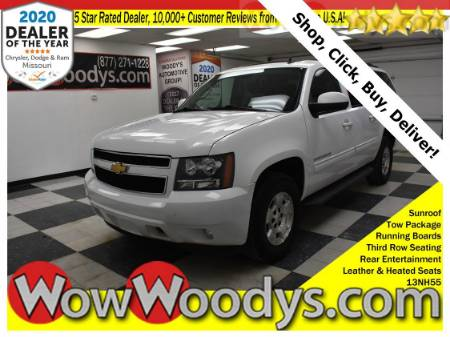 2013 Chevrolet Suburban LT 4X4 5.3L V8 Leather Heated Seats Remote Start Third Row Seating Rear Entertainment
