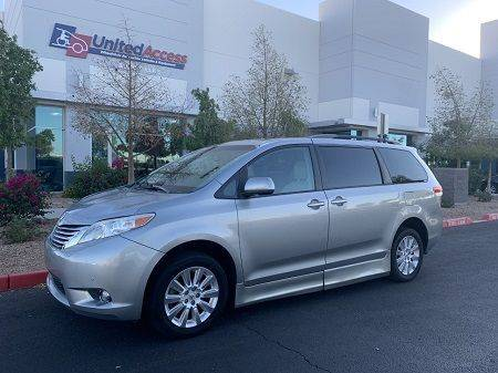 2011 Toyota Sienna Limited Wheelchair Van
