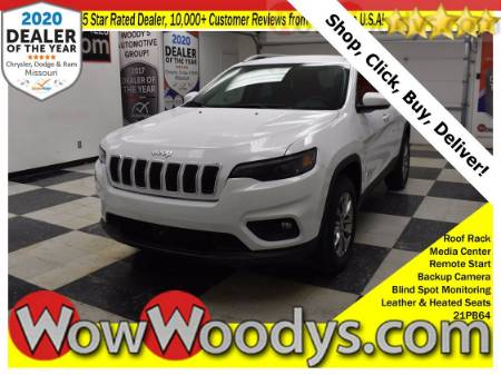 2021 Jeep Cherokee Latitude LUX 4X4 3.2L V6 Leather Heated Seats Remote Start Backup Camera