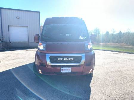 2019 RAM ProMaster 2500 High Roof 159WB Wheelchair Vehicle