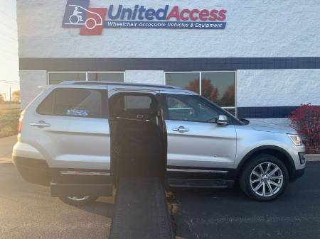 2017 Ford Explorer Limited Wheelchair Vehicle