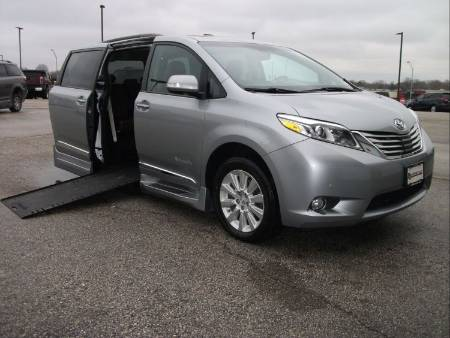 2016 Toyota Sienna Limited Wheelchair Vehicle