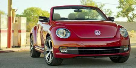 2013 Volkswagen Beetle Convertible Convertible Automatic 2.5L