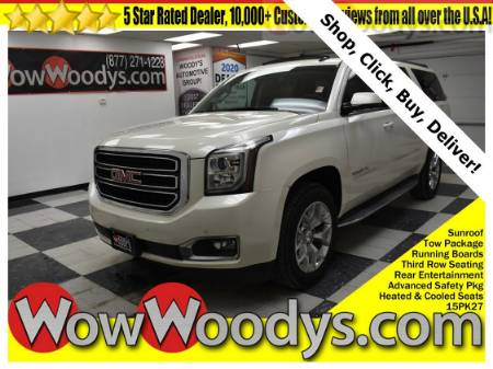 2015 GMC Yukon XL SLT 4X4 5.3L V8 Tow Package Running Boards Third Row Seating Rear Entertainment